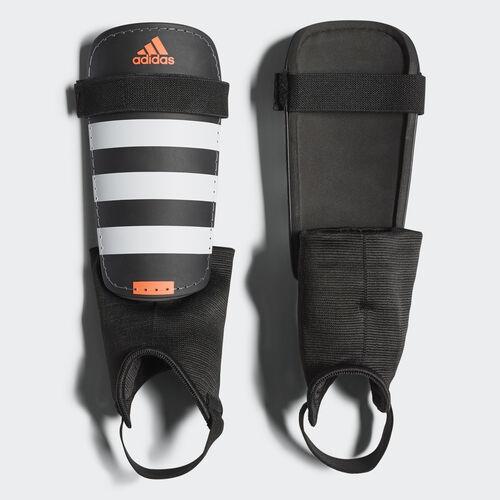 adidas - Everclub Shin Guards Black/White/Solar Red AP7030