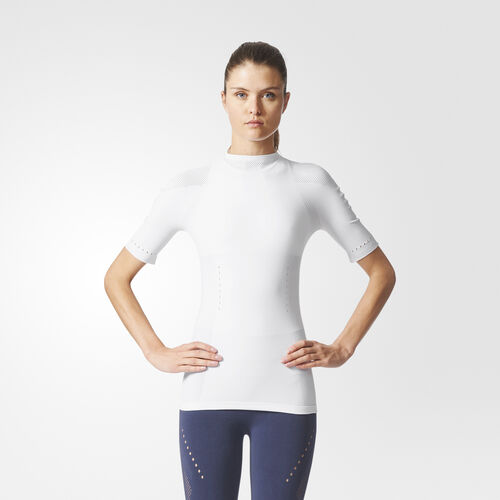 adidas - Camiseta Warp-Knit White CE7828
