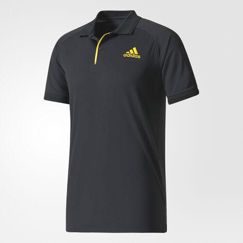 adidas - Barricade Polo Shirt Black/Eqt Yellow CG2357