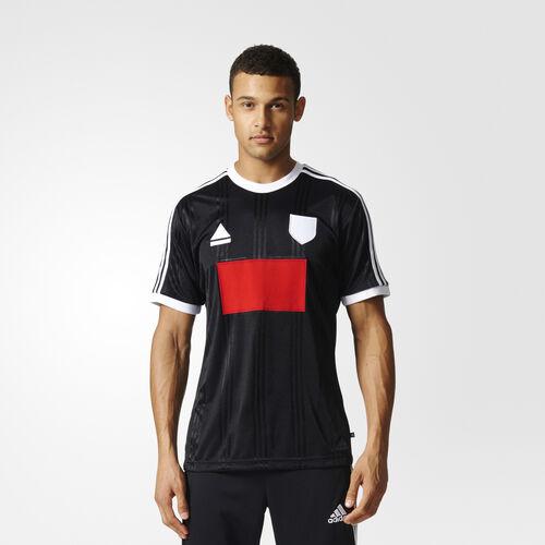 adidas - Tango Stadium Icon Jersey Black/White/Red S98650