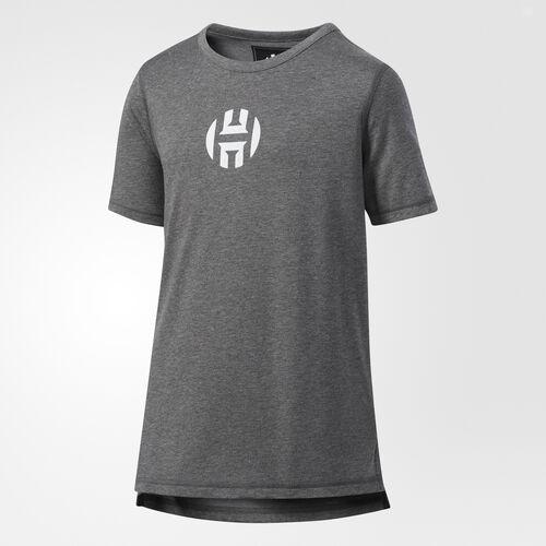 adidas - Harden Logo Tee Dark Grey Heather CE7725