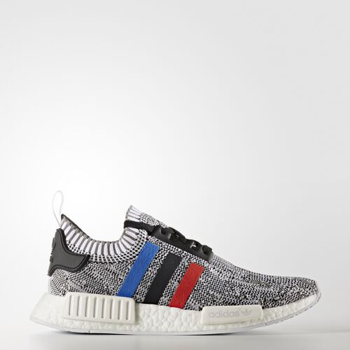 adidas - NMD_R1 Primeknit Schuh Footwear White/Core Red/Core Black BB2888
