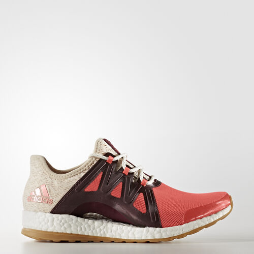 adidas - Pure Boost Xpose Clima Shoes Easy Coral/Linen/Maroon BB1739