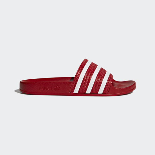 adidas - adilette Slides Scarlet/White 288193