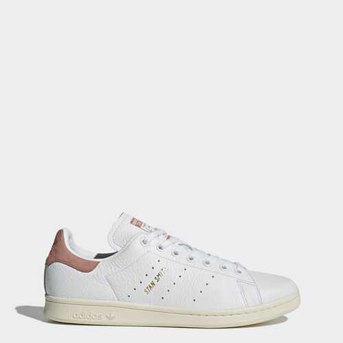 adidas - Stan Smith Shoes Footwear White/Footwear White/Raw Pink CP9702