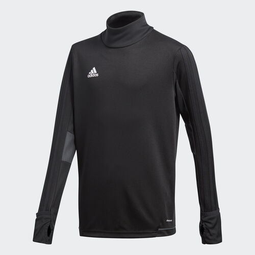 adidas - Tiro17 Training Top Black/Dark Grey/White BK0293