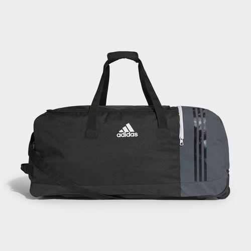 adidas - Tiro Team Bag with Wheels XL Black/Dark Grey/White B46125