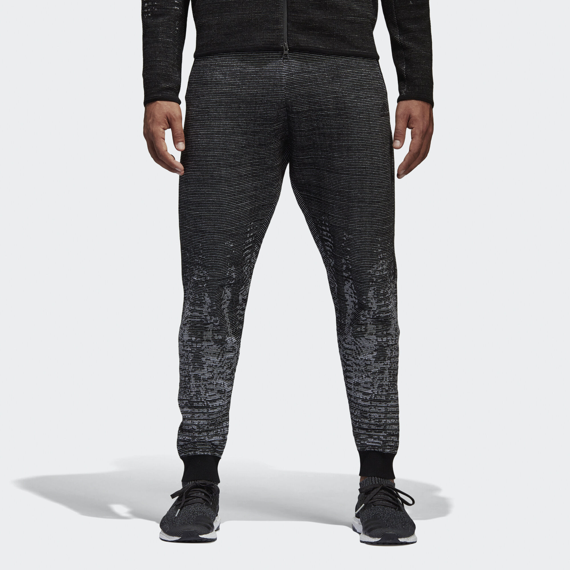 adidas - Pantalón adidas Z.N.E. Pulse Black/Off White BQ4840. Hombre  Athletics