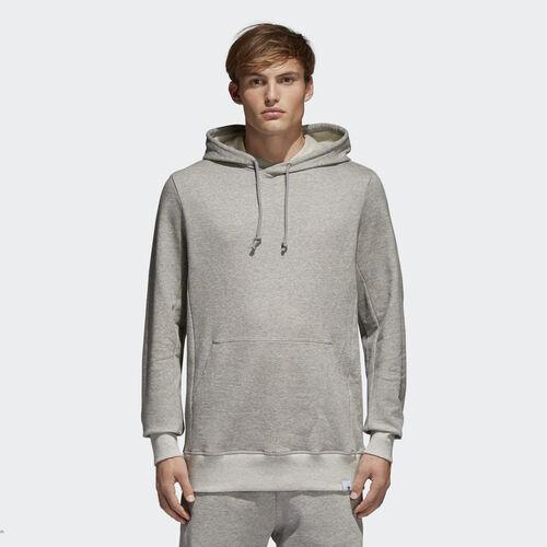 adidas - Mikina XbyO Hoodie Medium Grey Heather BQ3084