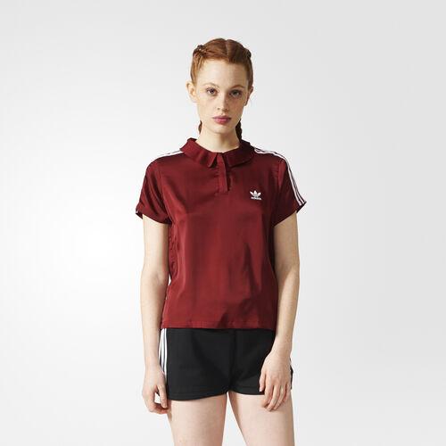 adidas - 3-Stripes Polo Shirt Collegiate Burgundy BR4558