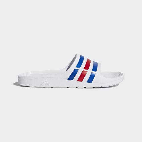 adidas - Duramo Slides White/Power Blue/Red U43664