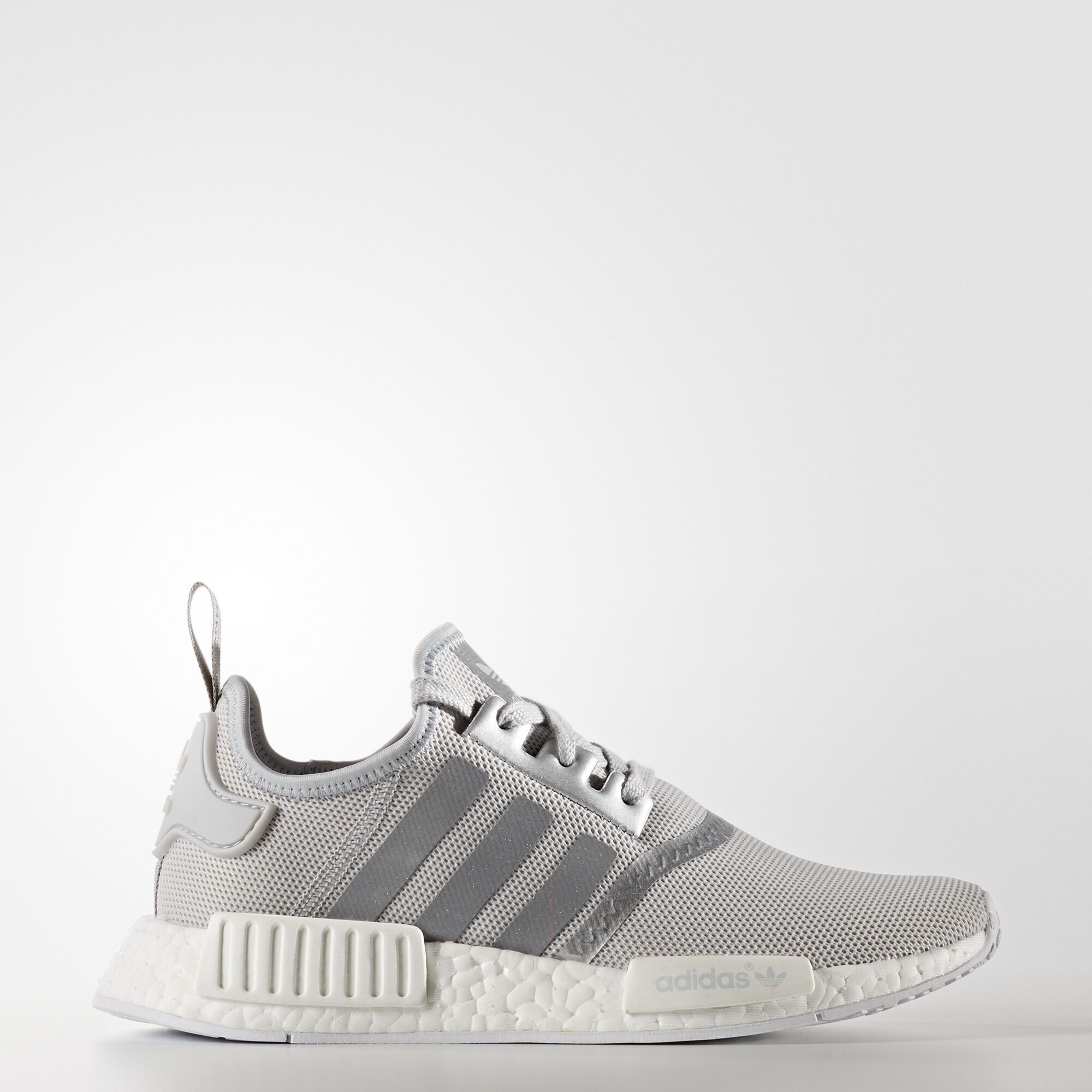 adidas nmd r1 schuh silber adidas deutschland. Black Bedroom Furniture Sets. Home Design Ideas