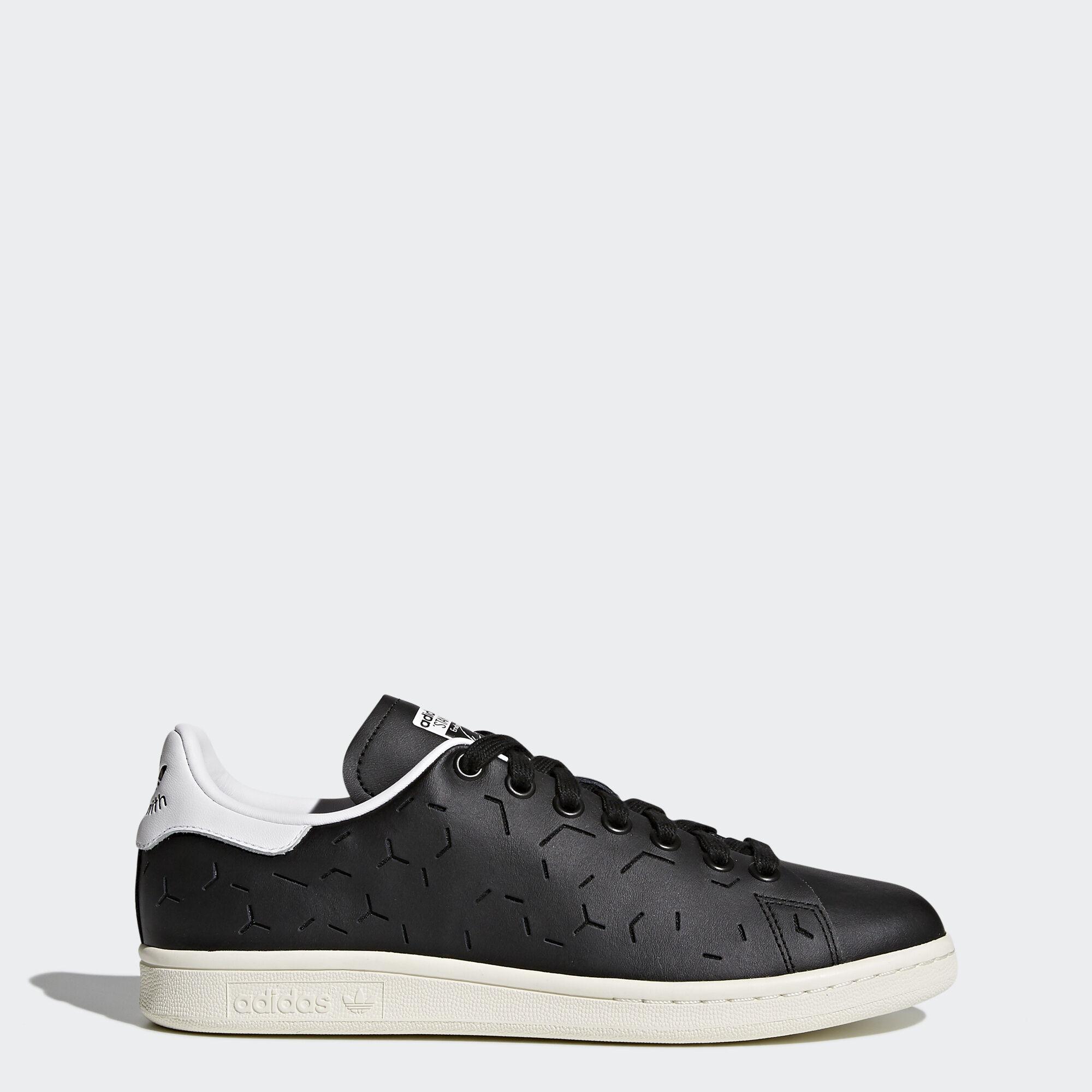 [Adidas] BZ0394 Originals Stan Smith Running Women Shoes Sneakers Black
