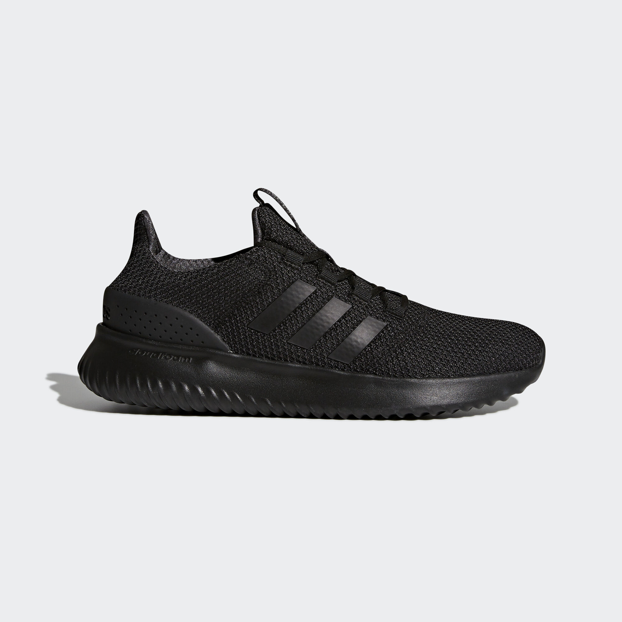adidas cloudfoam black grey