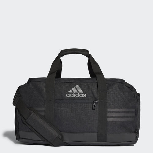 adidas - 3-Stripes Performance Team Bag Small Black/Vista Grey AJ9997