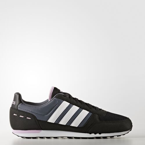 adidas - City Racer Schuh Core Black/Footwear White/Light Orchid B74490