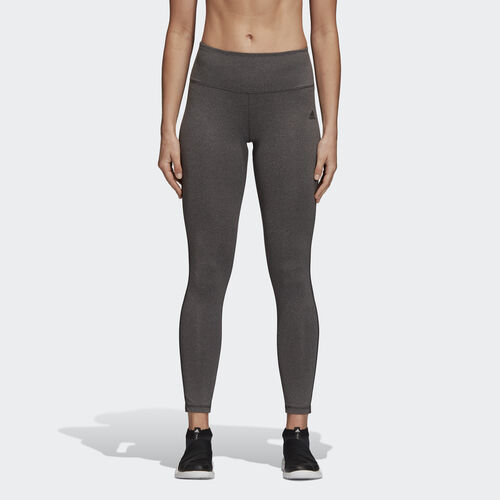 adidas - Design 2 Move Long Tights Core Heather/Dark Grey Heather BR6797