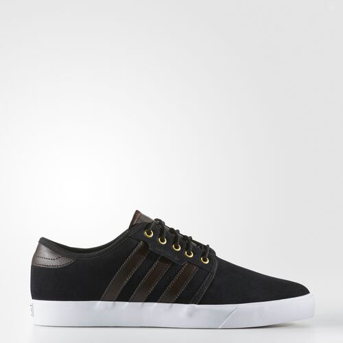 adidas - Seeley Shoes Core Black/Dark Brown/Footwear White BB8458