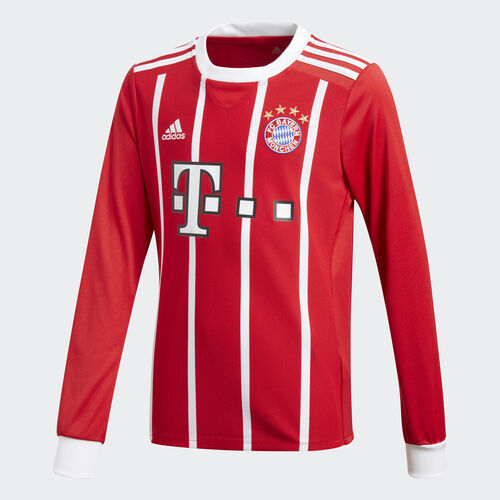 adidas - FC Bayern Munich Home Replica Jersey Fcb True Red/White AZ7953