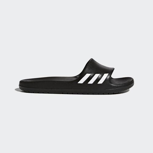 adidas - Klapki Aqualette Slides Core Black/Footwear White BA8762