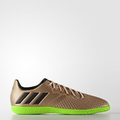 adidas - Messi 16.3 Indoor Boots Copper Metallic/Core Black/Solar Green BA9855