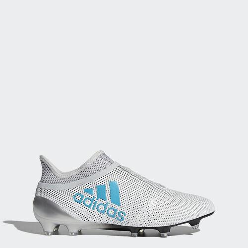 adidas - X 17+ Purespeed FG Fußballschuh Footwear White/Energy Blue /Clear Grey S82444