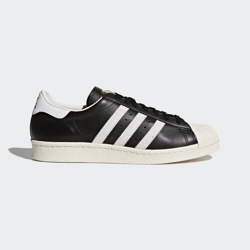 adidas - Superstar 80s Shoes Core Black/White/Chalk White G61069
