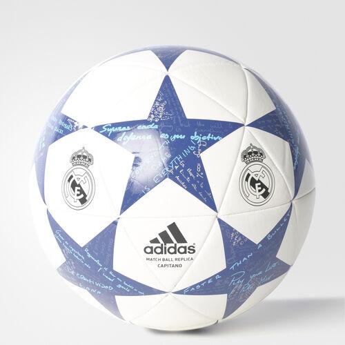 adidas - Finale 16 Real Madrid Capitano Ball White/Super Purple/Raw Purple AP0390
