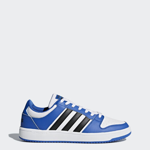 adidas - Cloudfoam BB Hoops Schoenen Footwear White/Core Black/Blue AW3909
