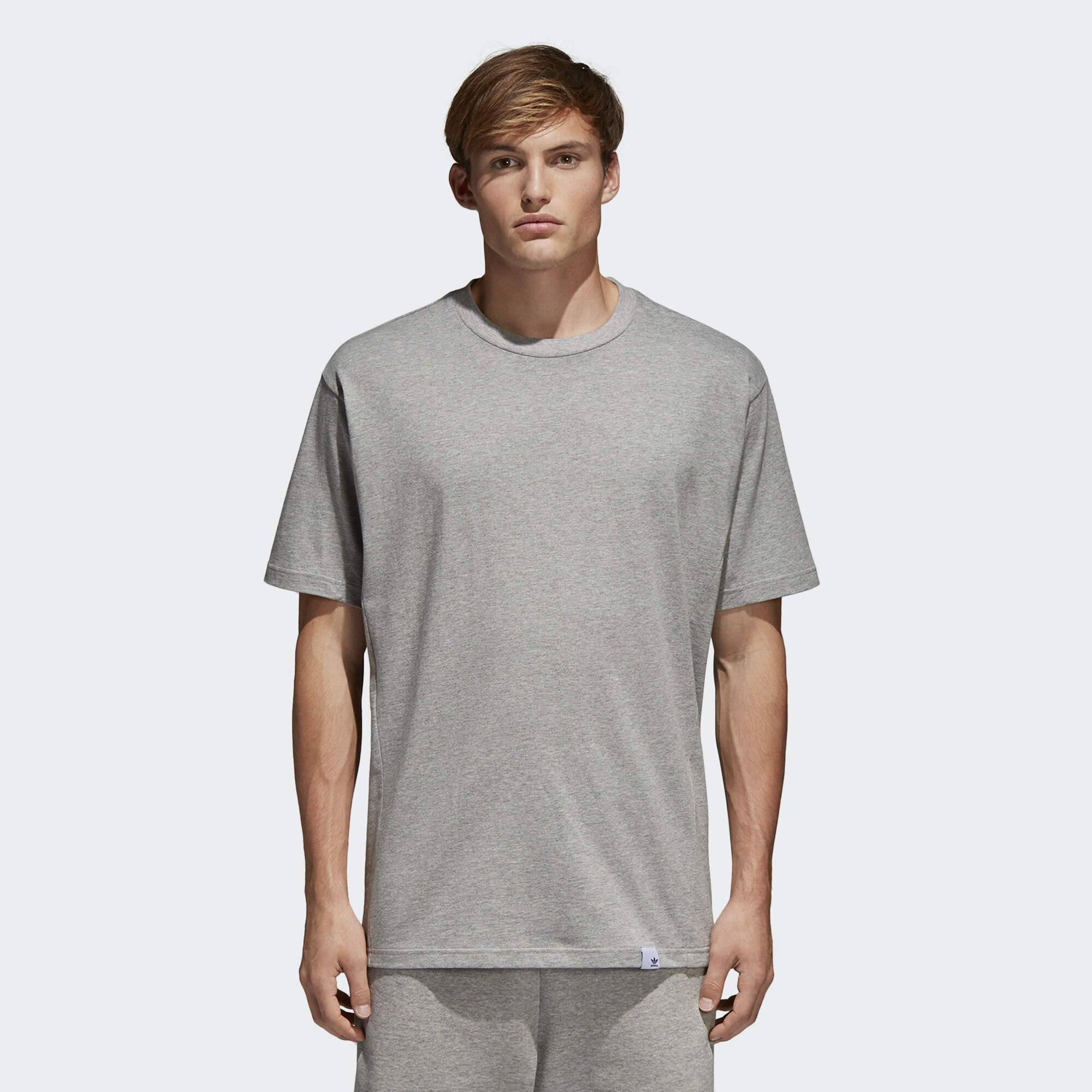Adidas shirt design your own - Adidas Xbyo Tee Medium Grey Heather Bq3050