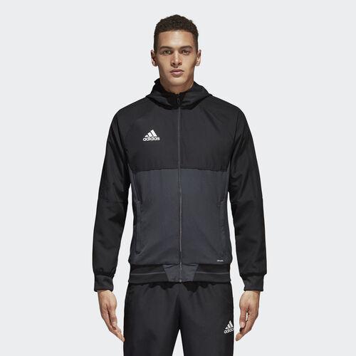adidas - Tiro 17 Presentation Jacket Black/Dark Grey/White AY2856