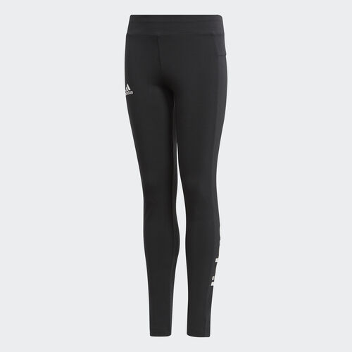 adidas - Calças Justas Linear Essentials Black/White BP8585