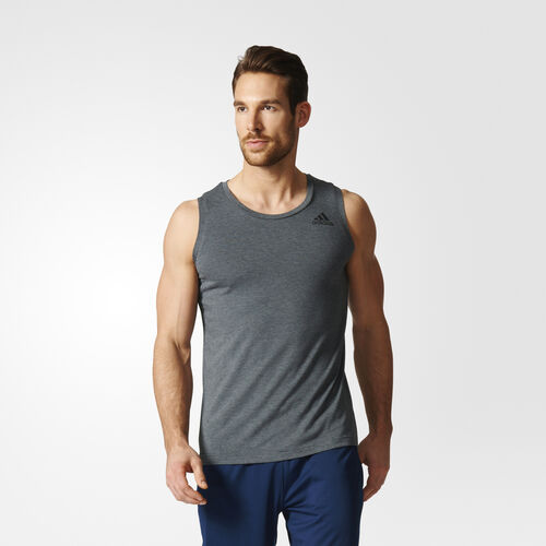 adidas - Prime Tank Top Dark Grey Heather BK1250