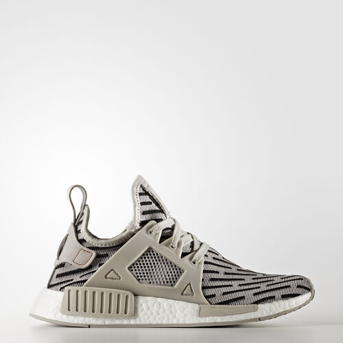 adidas - Buty NMD_R1 Shoes Clear Granite/Core Red BB2376