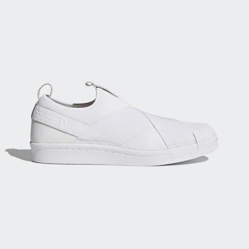 adidas - Superstar Slip-on Shoes Footwear White/Footwear White/Footwear White BZ0111