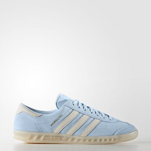 adidas - Hamburg Shoes Ice Blue/Off White/Off White BA8410