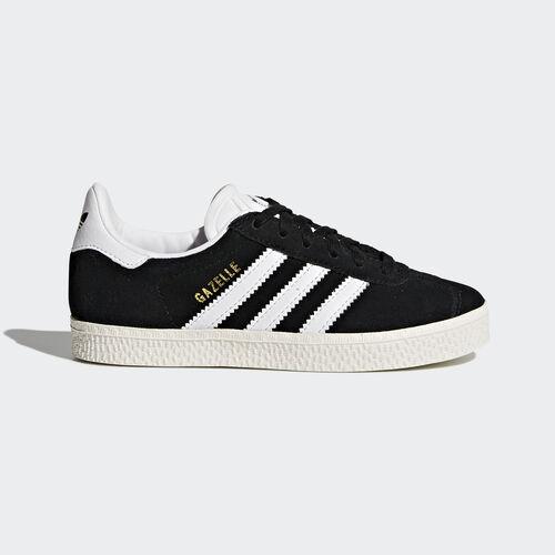 adidas - Gazelle Shoes Core Black/Footwear White/Gold Metallic BB2507