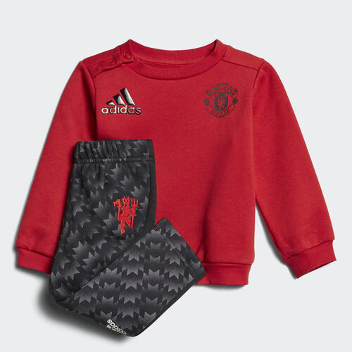adidas - Mini Me Manchester United Jogger Set Real Red /Black CE9801