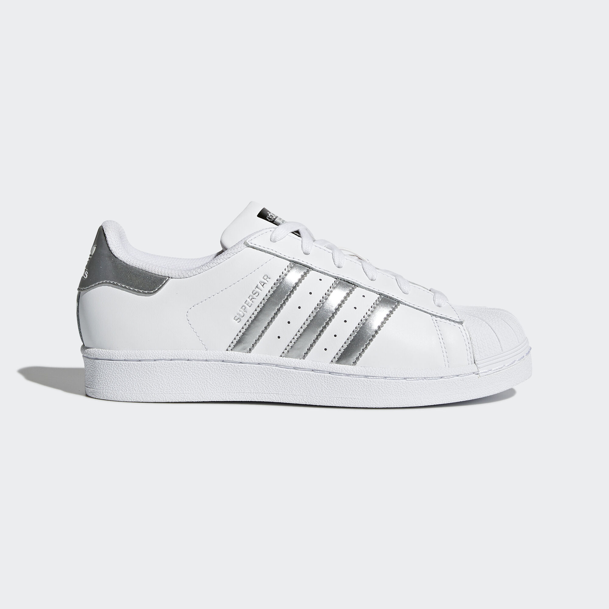 Adidas Superstar Metallic Weiß