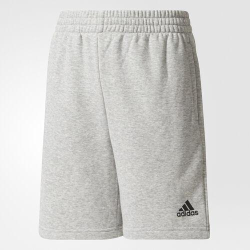 adidas - Essentials Logo Shorts Medium Grey Heather/Black CE8623