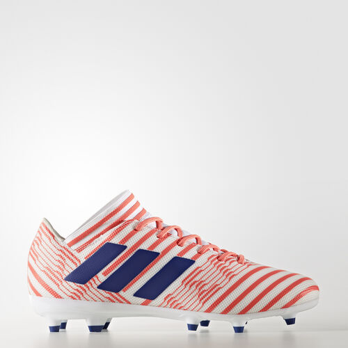 adidas - Nemeziz 17.3 Firm Ground Boots Footwear White/Mystery Ink /Easy Coral CG3392