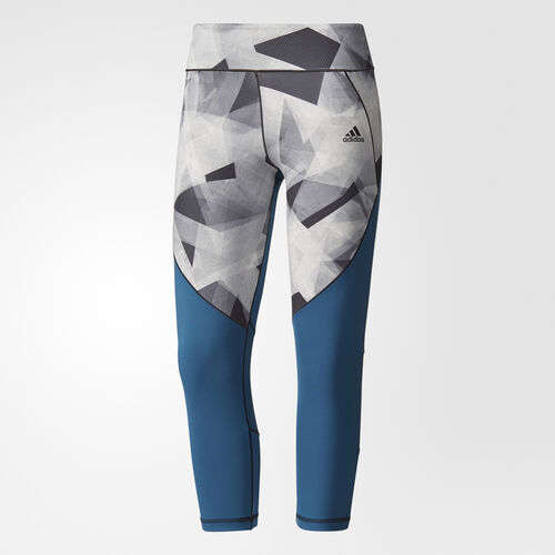 adidas - Tight 3/4 Ultimate Cut and Sew Petrol Night /Print BR6783