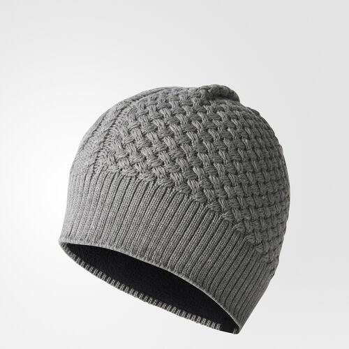 adidas - Climaheat Beanie Core Heather/Black/White BR9967