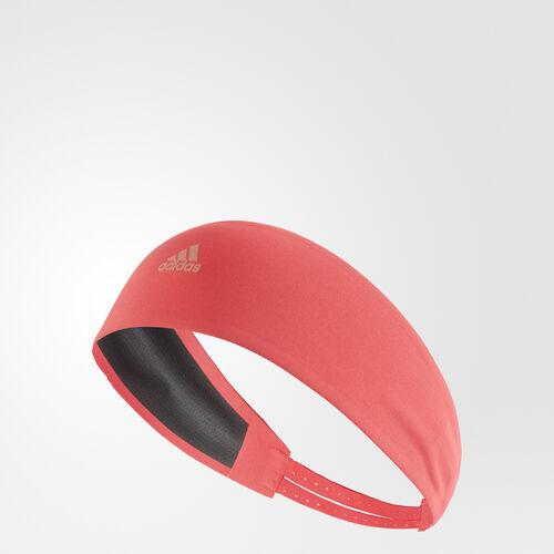 adidas - Climalite Running Headband Core Pink/Tech Rust Metallic S99782