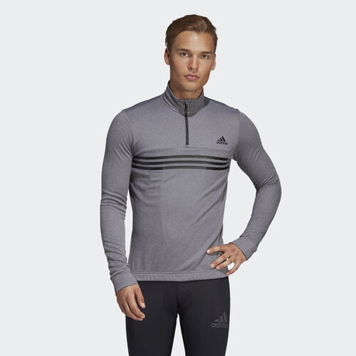 adidas - Warmtefront Jersey Dark Grey Heather BQ3777