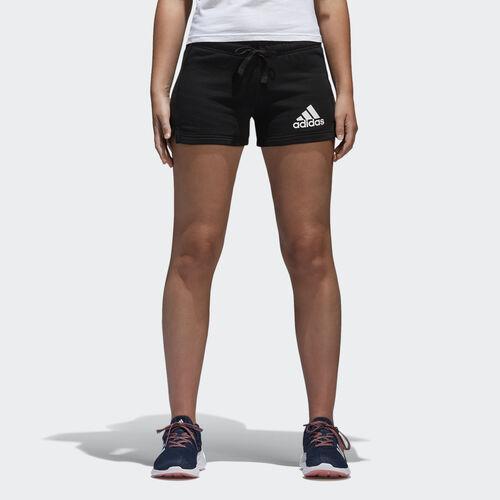 adidas - Essentials Logo Shorts Black/White B45780