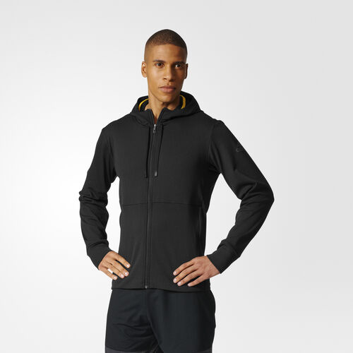adidas - Climawarm Hooded Workout Jack Black BR8529