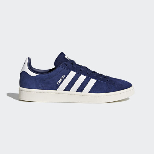 adidas - Zapatilla Campus Dark Blue/Footwear White/Chalk White BZ0086