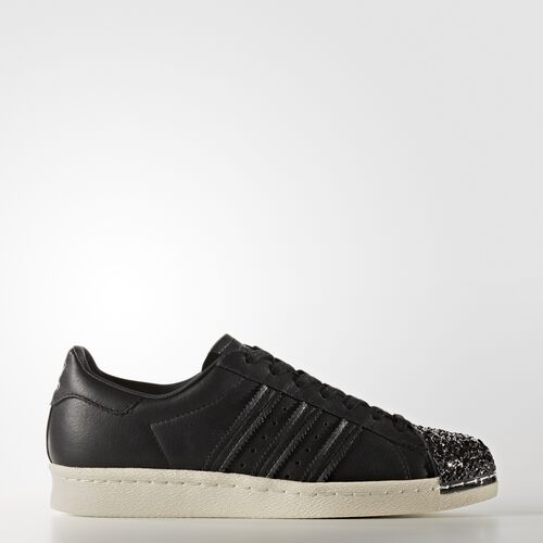 adidas - Superstar 80s Shoes Core Black/Off White BB2033