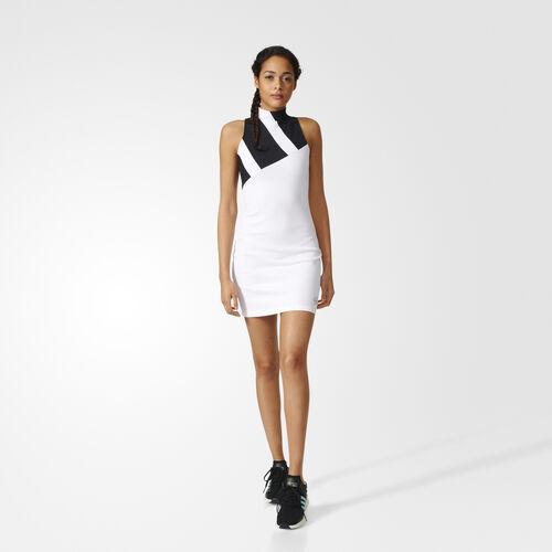 adidas - Mesh Dress White/Black BK6193